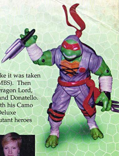 LEE'S TOY REVIEW #xx ::  pg.x TOY FAIR '98 - PLAYMATES'S 'ZORRO' & NT: THE NEXT MUTATION. Turtleflage & SHADOW NINJAS / Unreleased 'SHADOW NINJA RAPH' (( xx 1998 )) by tOkKa