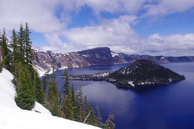 Crater Lake - spring