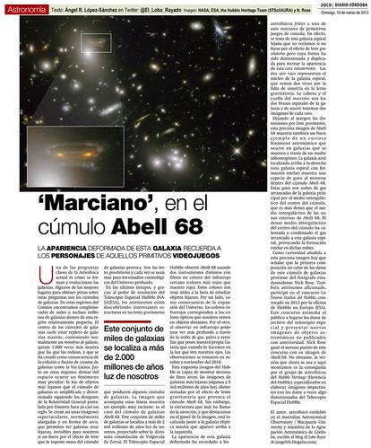 Zoco Astronomía: Marciano en el cúmulo de galaxias Abell 68 | by Ángel López-Sánchez