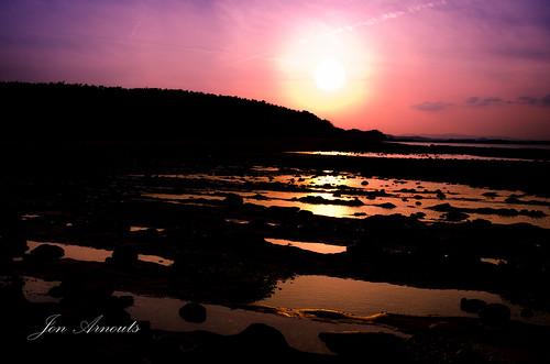 ocean sunset sea sun water japan island dusk highcontrast miyazaki 日本 太陽 海 aoshima pennisula 宮崎 青島 zoomlenses 18105mmf3556gvr