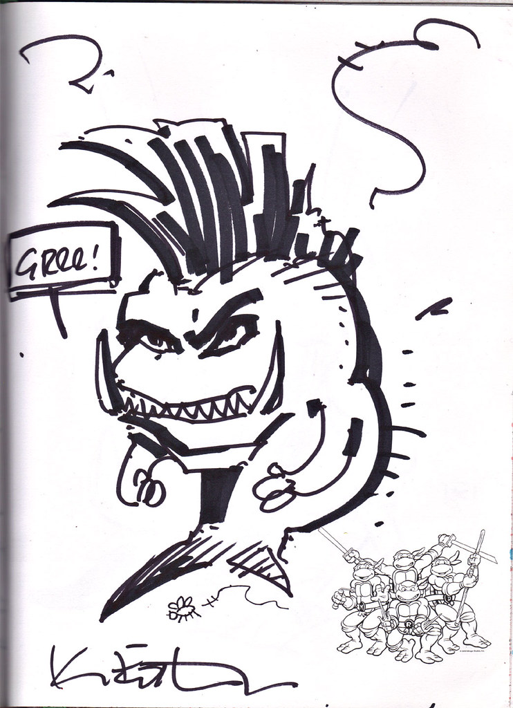 """FRUSTRATED XEVER; FAST FISHFACE"" by Kevin Eastman (( 2013 )) by tOkKa"