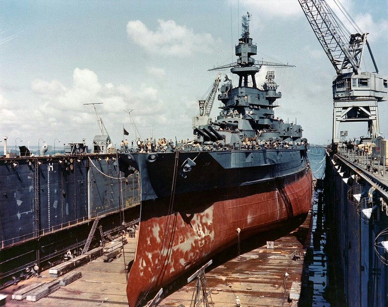 Battleship USS Pennsylvania (BB-38)