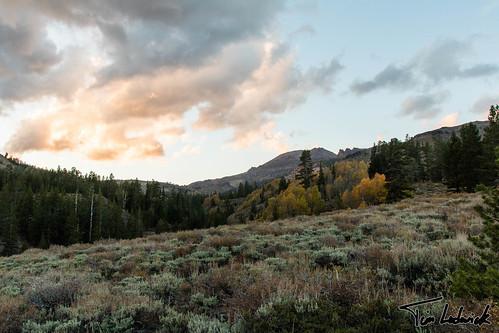 california sunset cloud mountain landscape us unitedstates mononorth