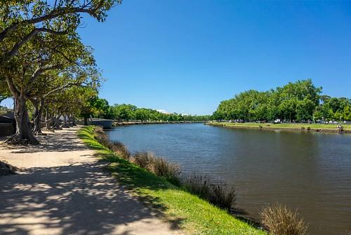river outdoor melbourne yarra serene