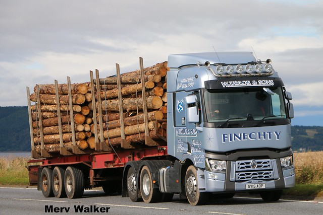 W.Taylor & Sons Renault T Range SY 15 AOP.