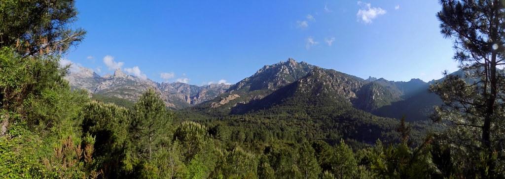 Panoramique du Haut-Cavu