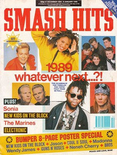 Smash Hits, December 27, 1989