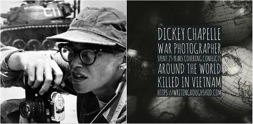 DICKEY CHAPELLE (GEORGETTE LOUISE MEYER) #100travelHERS | by sandrakaybee