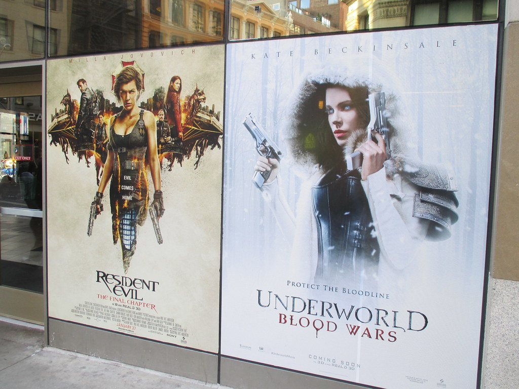 Resident Evil The Final Chapter And Underwood Blood Wars 1 Flickr