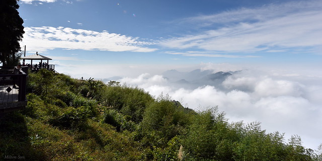 [Vista Point above the Waves of Low Clouds]