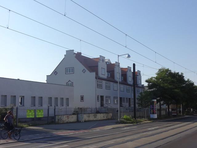 1922 Magdeburg 4 Reihenwohnhäuser für leitende Mitarbeiter KRUPP-Gruson-Werk Schönebecker Straße 69-72 in 39104 Buckau