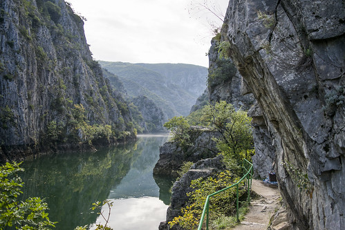Matka Canyon Path | by rante_to4ak