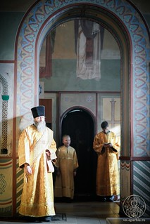 Литургия в Софийском соборе 225