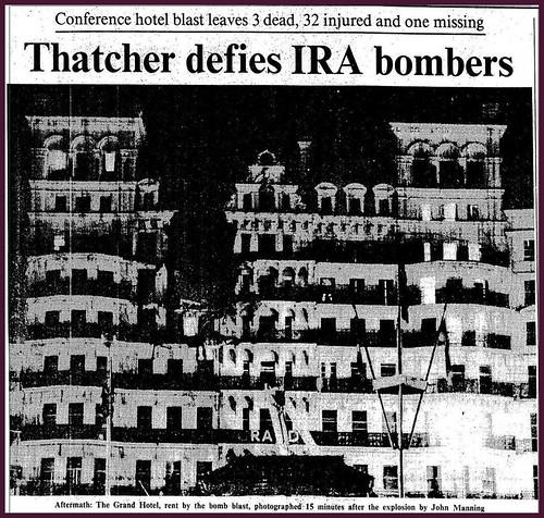 12th October 1984 - IRA Bomb at Brighton   by Bradford Timeline