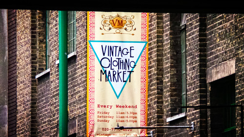 Vintage Clothing Market | by garryknight