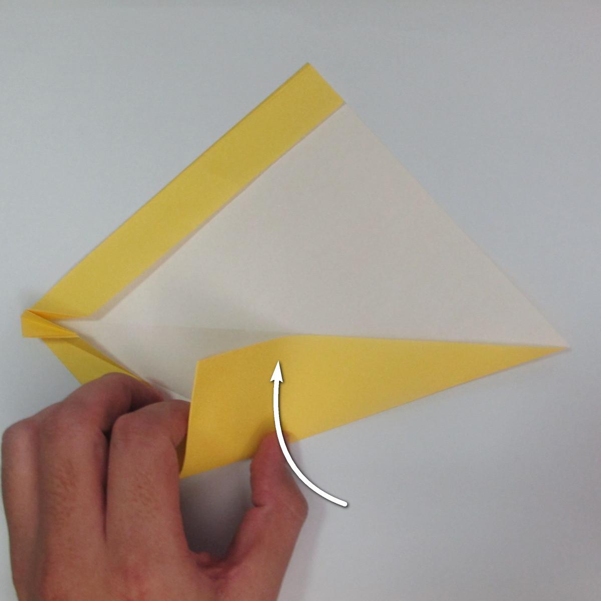 สอนวิธีพับกระดาษเป็นรูปลูกสุนัขยืนสองขา แบบของพอล ฟราสโก้ (Down Boy Dog Origami) 026