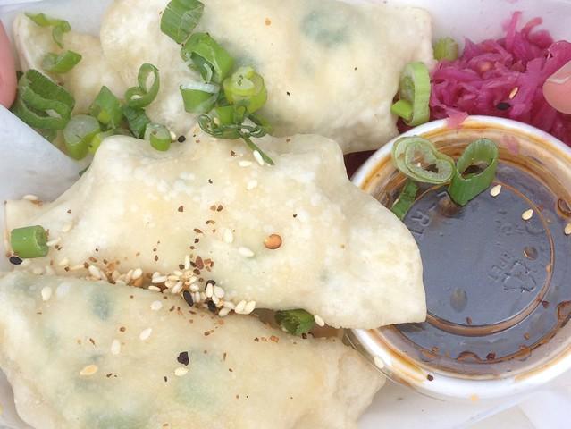 Yaki-Mandu (Korean Style Dumplings)