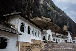 Sri Lanka. Dambulla. Rock Temples.