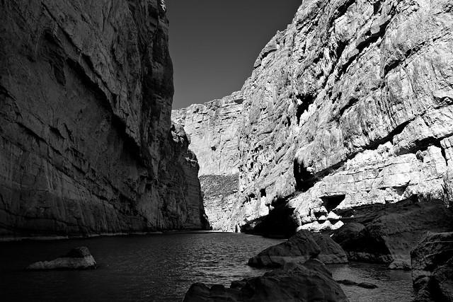 The Santa Elena Canyon (Big Bend National Park)
