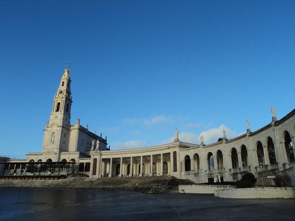 Sanctuary Of Our Lady Of Fatima Fatima Portugal Gercek0 Flickr