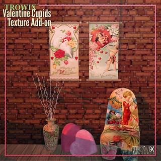 Trowix - Valentine Cupids Texture Addon MP