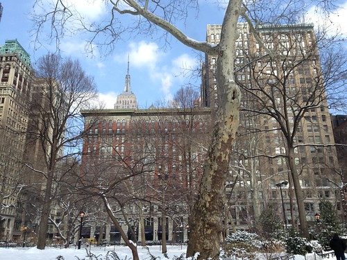 Empire State Building desde Madison Square Park, NYC. Nueva York | by voces