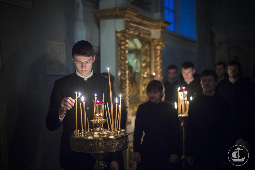 14 февраля 2015, Всенощное бдение накануне Сретения Господня / 14 February 2015, Vigil on the eve of The Meeting of Our Lord