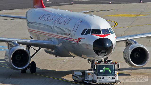 Airbus A320-214 OE-LBP Austrian Airlines (Retrojet) | Düsseldorf DUS/EDDL