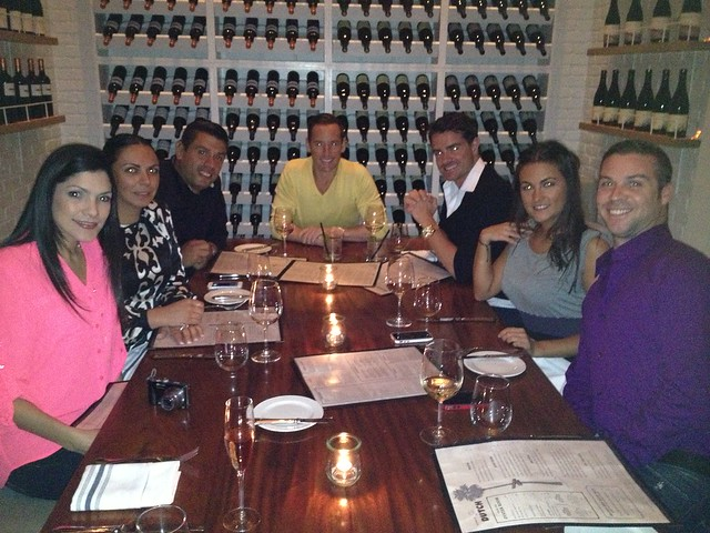 AMGW's Peggy Fuguet, Gaby Sanchez, Manuel Gutierrez, Edward de Valle II, Mathew Parento, Marina Temiño, and Aaron Fischer