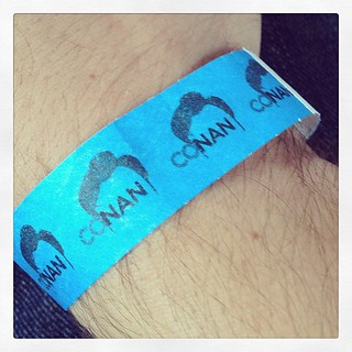 I went to see Conan today. For those who see the show tonight: Biscuts! | by djmayhem