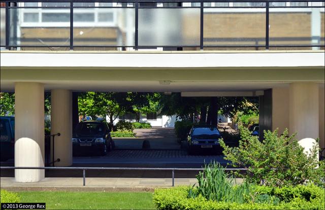 Churchill Gardens / undercroft