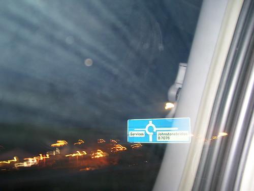 uk unitedkingdom britain johnstonebridge lights night town window car blur blurred galloway motorway inayoutubevideo scotland gb