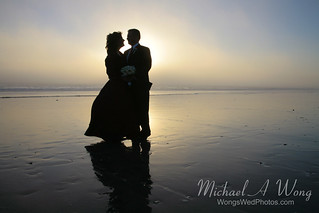 Wedding Couple On The Beach | by Visit Half Moon Bay