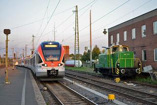 VIAS VT409/Brohtalbahn 360 573 Neuwied (D) 9 september 2012
