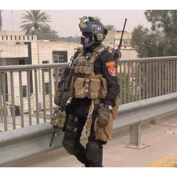 احد ابطال القوات الخاصه العراقيه المنتشرين في شوارع بغداد Flickr