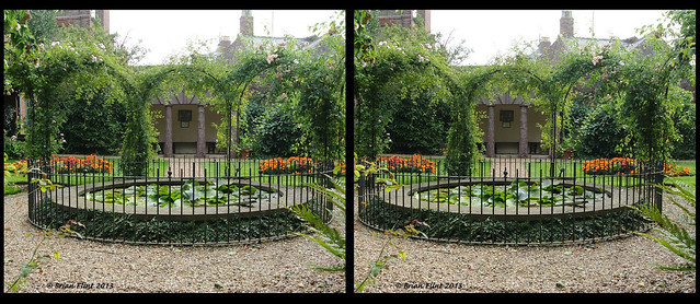 Peckover House Gardens - 3d crossview