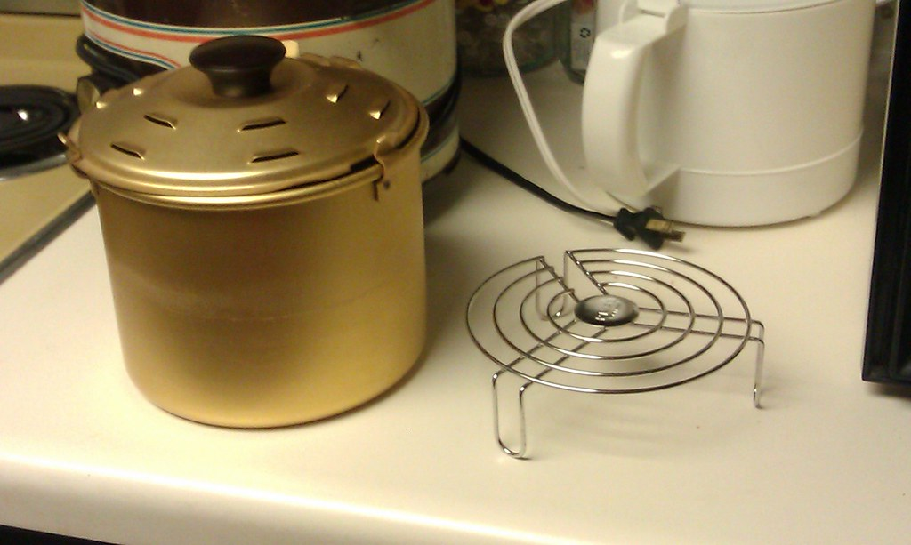 My Crock Pot Has Had Offspring The Wire Rack On The