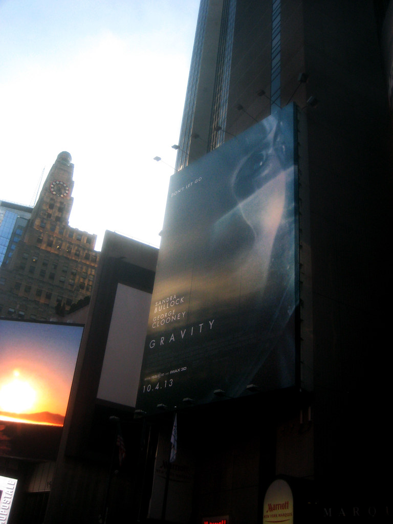 Gravity Movie Poster Billboard Sci-Fi 3D 5903 | Gravity Movi