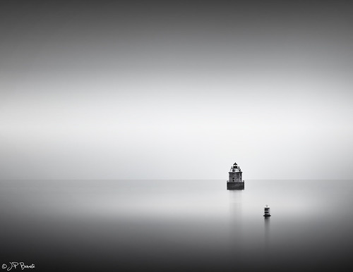 longexposure bw lighthouse mist water monochrome rain weather fog maryland minimal buoy chesapeakebay sep2 cs6 sandypointstatepark 24105l leefilter lr5 5dii bigstopper jpbenante pushinagainstastone