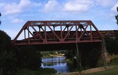 Railway Bridge over the River Torrens, 1984