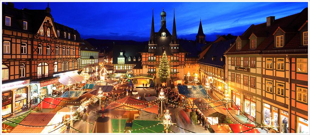 Wernigerode Weihnachtsmarkt.Weihnachtsmarkt Wernigerode I Ts E 24mm Ii Panorama Flickr