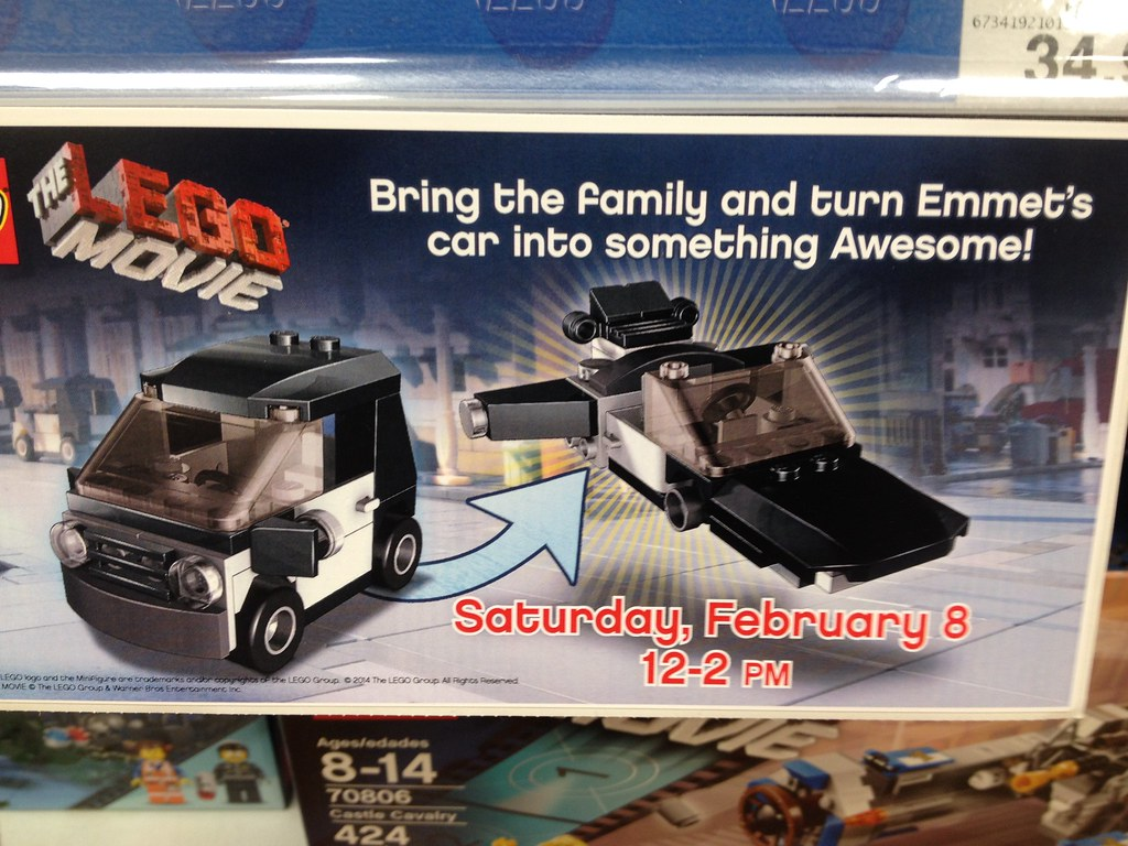 Toys R Us Lego Movie Event Feb 8 2014 1 As Seen And Dis Flickr