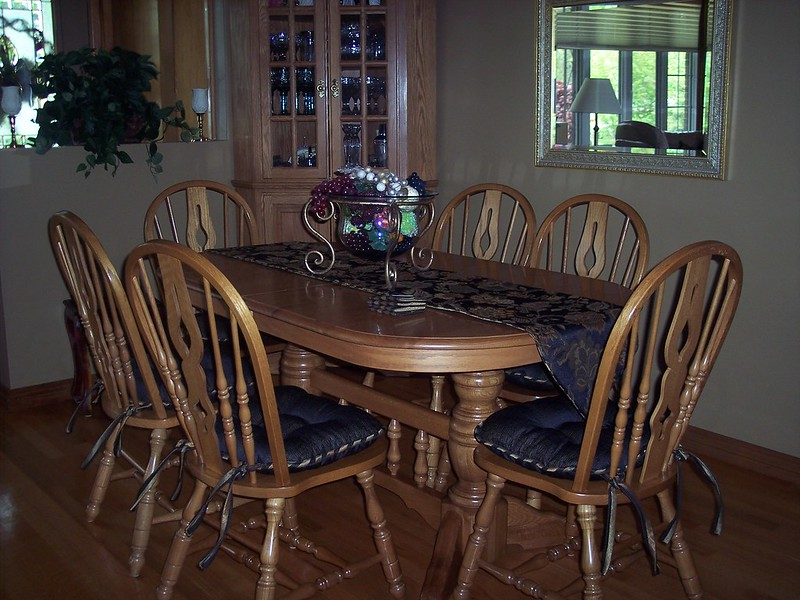 Chair Pads and Table Runner