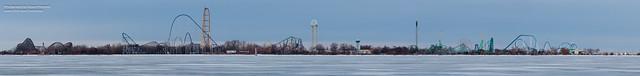 Cedar Point Panoramic