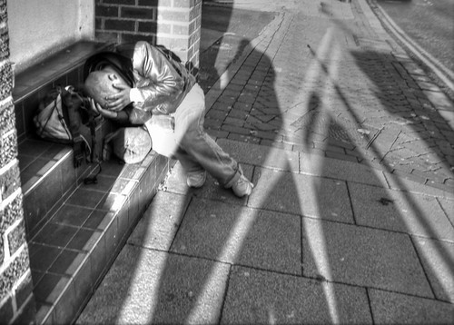 "Homeless Man Dec 2012 ""A picture is worth a thousand words"" 