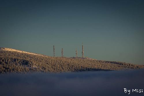 travel winter sunset landscape romania transilvania táj erdély utazás tél județulharghita hargitaaihavasok