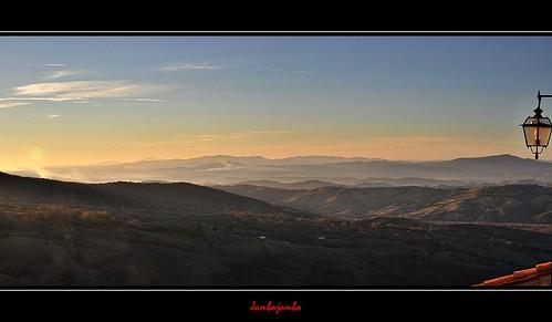 sunset italy panorama landscape italia tramonto eu tuscany cana toscana grosseto maremma paese roccalbegna paesaggiomaremmano nikond5000 jambojambo maremmacountryside