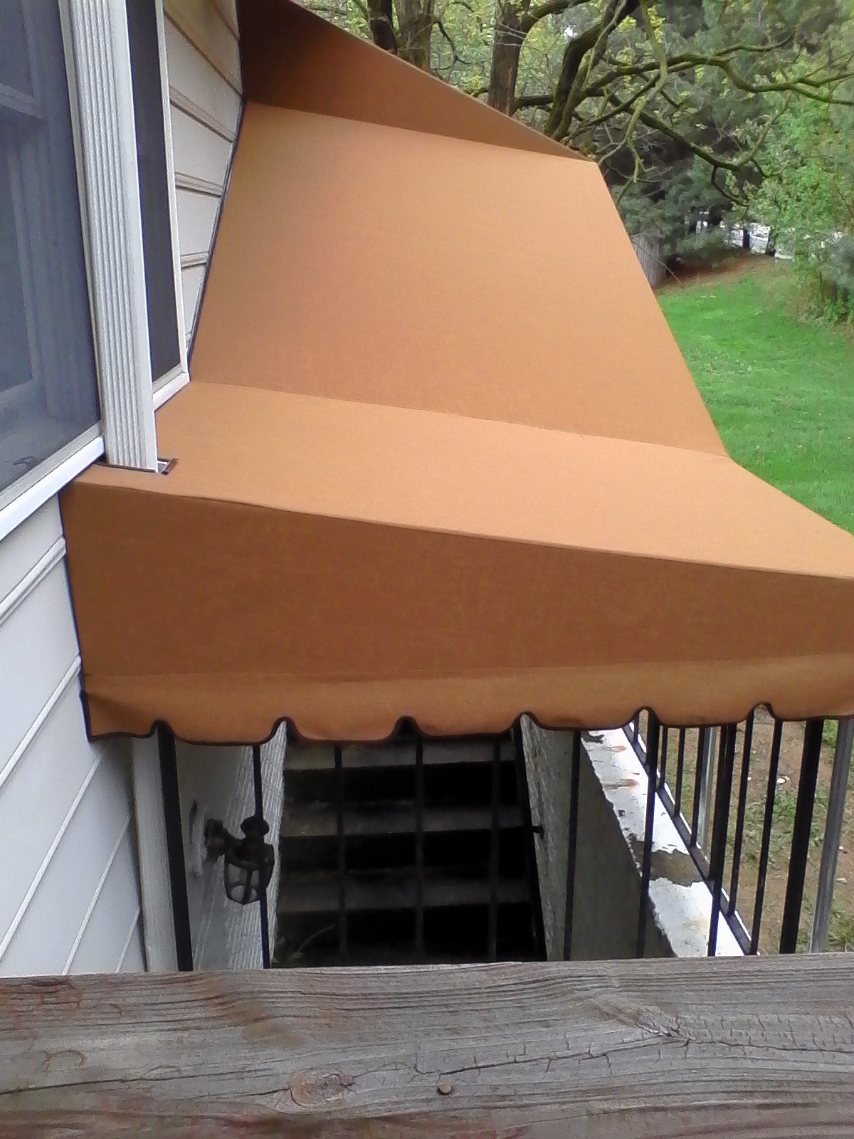 Residential-Stairwell Awning