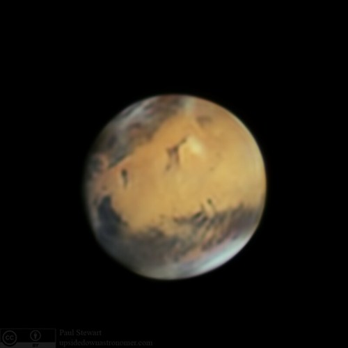 Mars from last night | by upsidedown astronomer