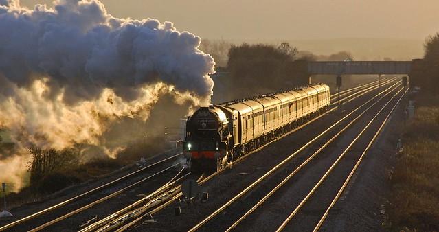 Sunset Steam